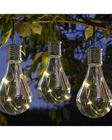 Solarleuchte Glühbirne Eureka