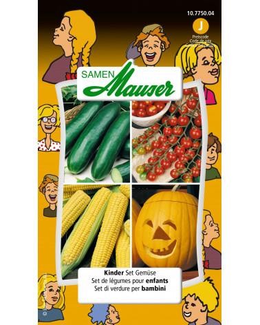 Kinder-Set Gemüsesamen
