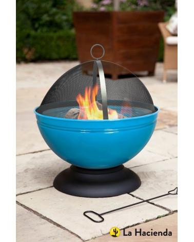 Feuerschale globe mit Grill