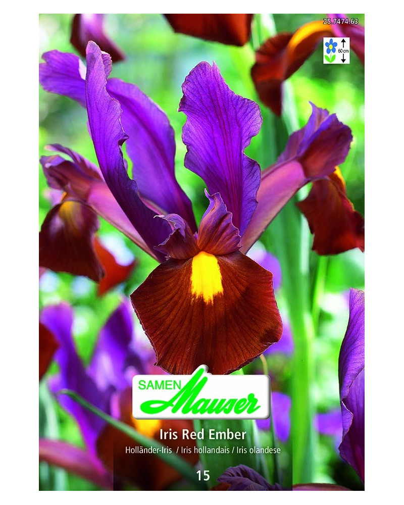 Iris Red Ember