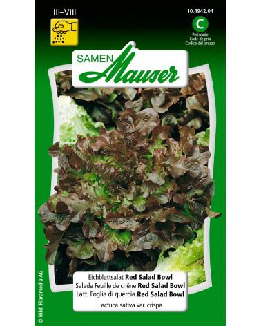 Eichblatt Red Salad Bowl